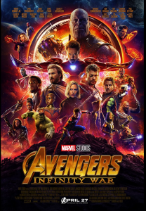 THE AVENGERS Infinity War (M)